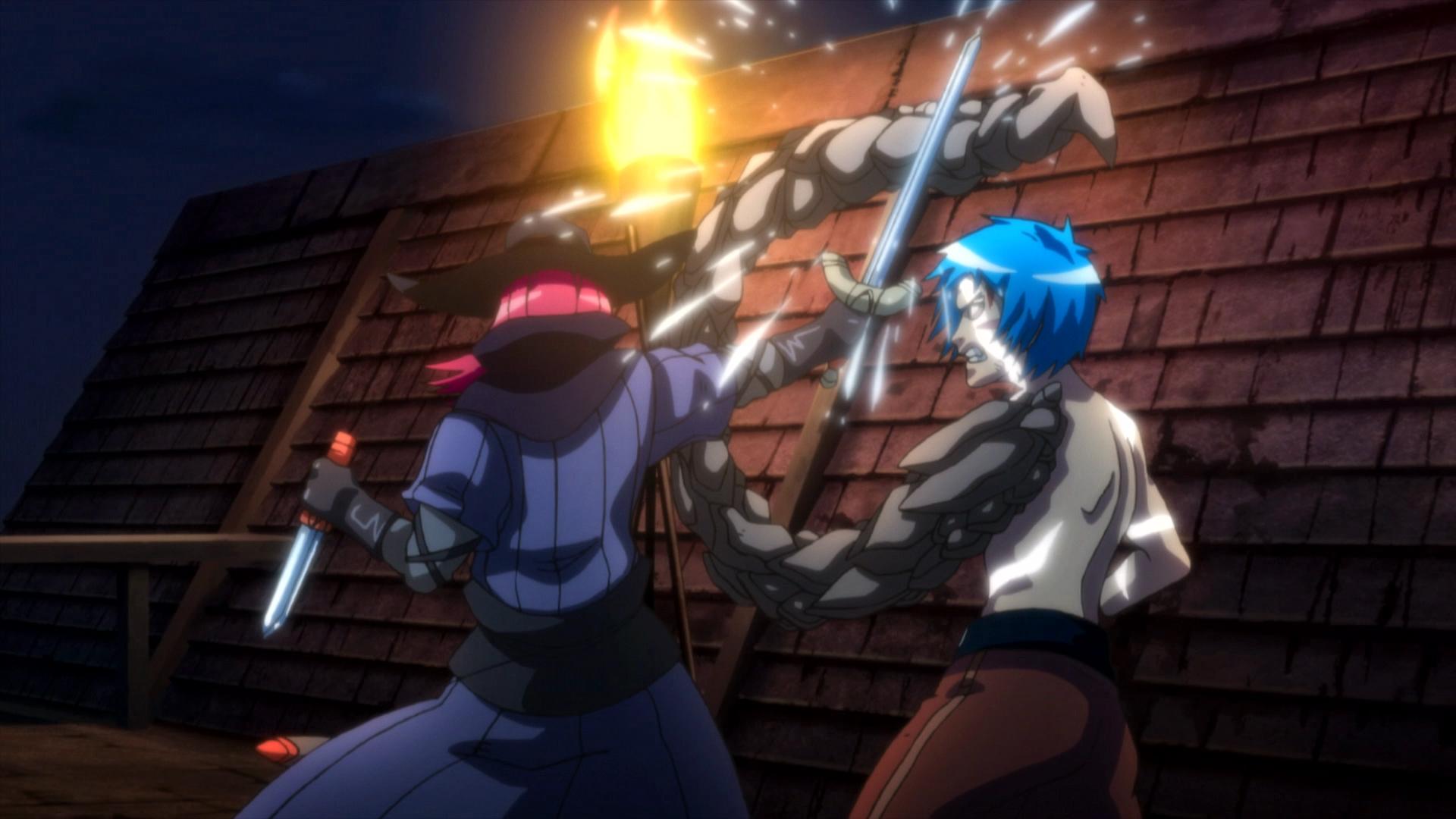 Indigo Ignited, Action Anime
